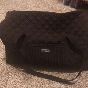 Vera Bradley large brown duffel bag